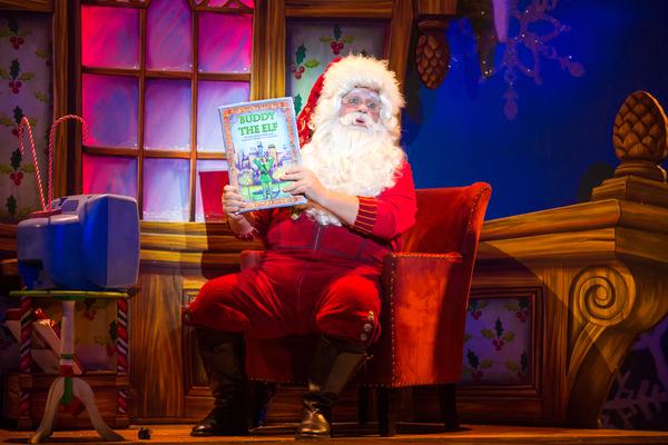 Ken Clement as Santa Photo