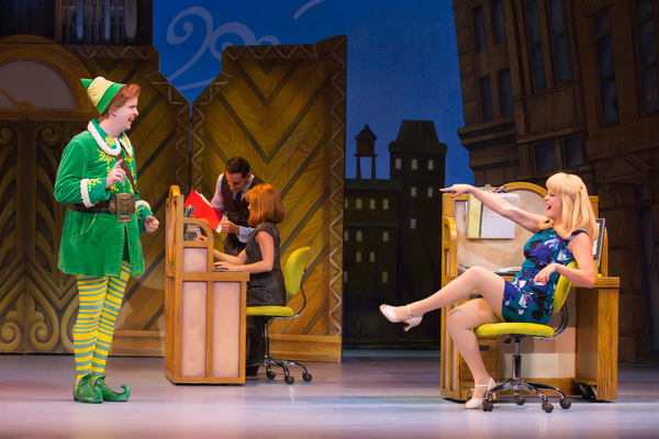 Photos: First Look at Erik Gratton and More in ELF THE MUSICAL in Boston
