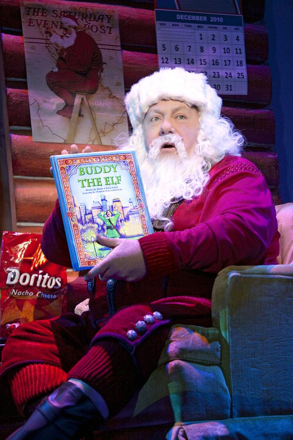 George Wendt as Santa