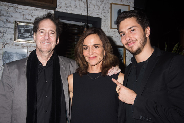 Michael Wolff, Polly Draper and Nat Wolff