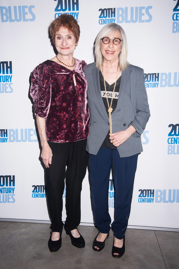 Producer Lida Orzeck and Playwright  Susan Miller