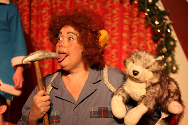 Photo Flash: First Look at Hell in a Handbag's RUDOLPH THE RED-HOSED REINDEER