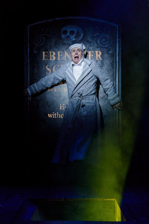 Steve Hendrickson as Scrooge Photo