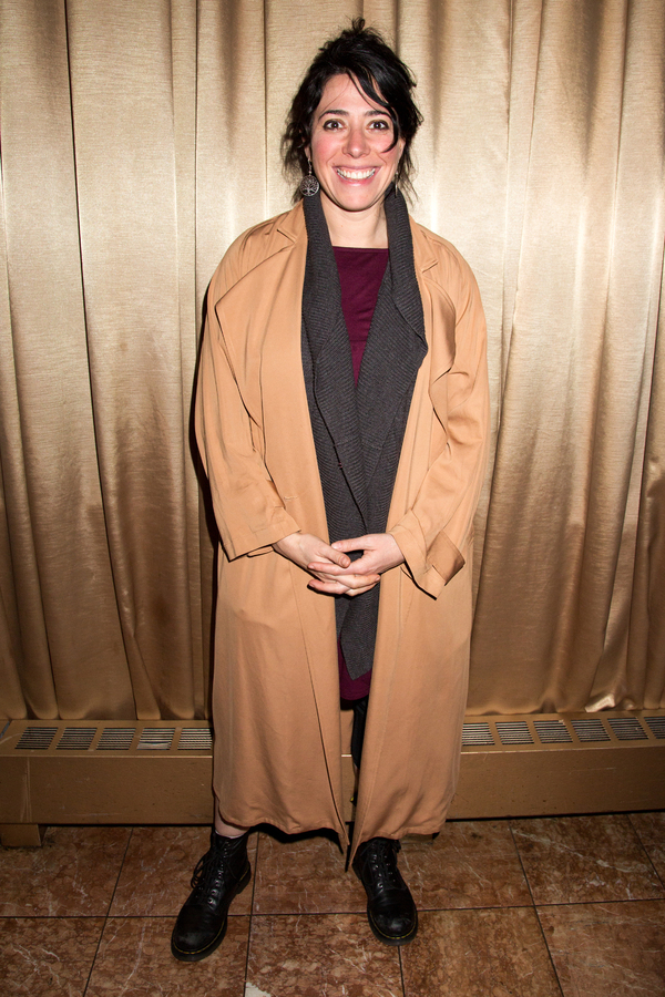 Photo Coverage: Shaina Taub Is Presented with 2017 Fred Ebb Award