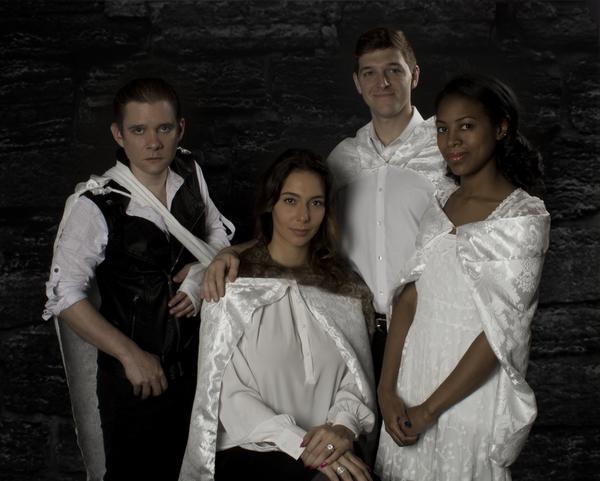 Left to Right: Jonathan Emerson, Natalia Cuevas, Nick Grabowski, Jordan Cobb
