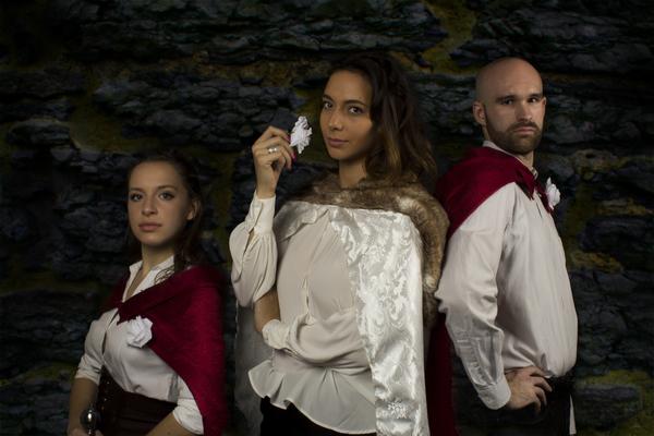Left to Right:Leana Gardella, Natalia Cuevas, Cameron A. Tubbs