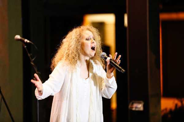 Christine Moussa performs One True Friend, from ANGELS during Australian launch event on November 28.