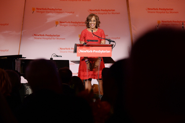 TV personality Gayle King hosts