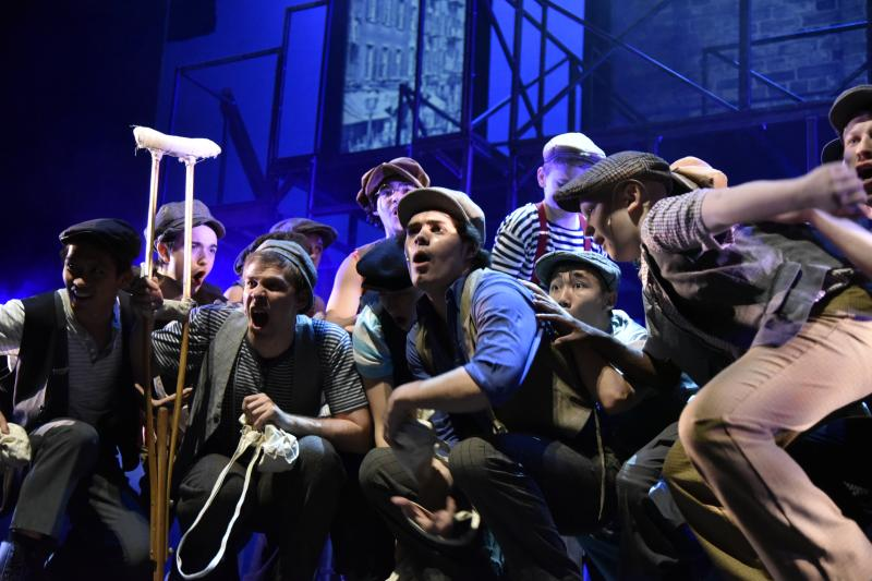 BWW Review: NEWSIES at Centenary Stage is an Excellent Family Show for the Holidays