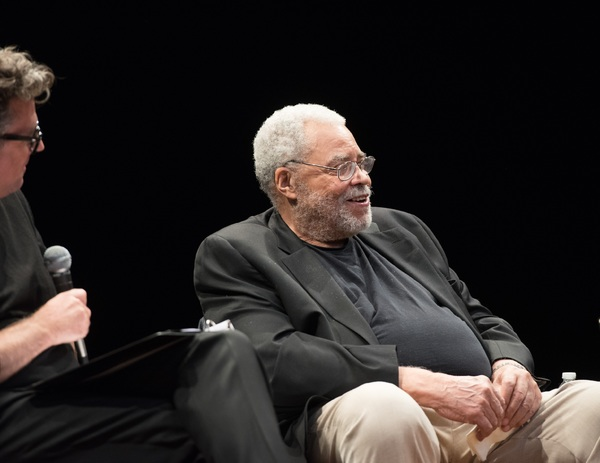 Photo Flash: James Earl Jones, Sam Waterston and F. Murray Abraham Chat KING LEAR at The Public Theater