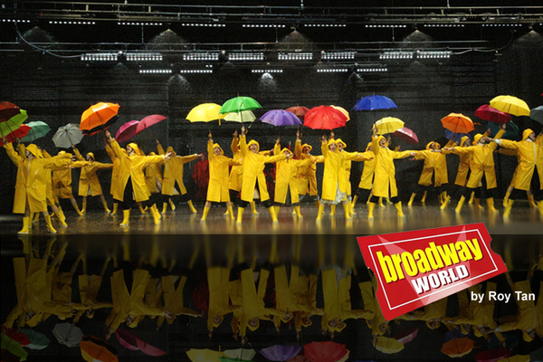 Photo Exclusive: First Look at Theatre du Chatelet's SINGIN' IN THE RAIN at Le Grand Palais