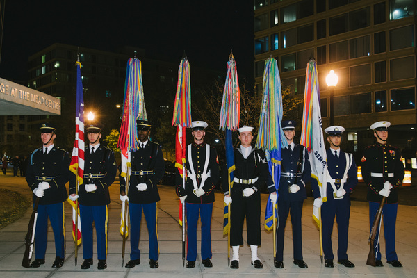 Photo Flash: Arena Stage Hosts Military Thanksgiving 2017