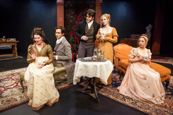 Miss Bennet Christmas At Pemberley.Photo Flash Capital Stage Presents Sacramento Premiere Of