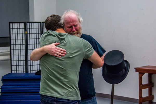 Photo Flash: In Rehearsal With Titan Theatre Company's A CHRISTMAS CAROL