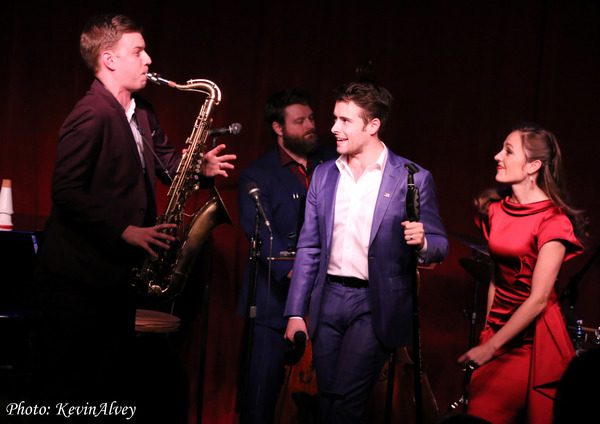 Photo Flash: Broadway at Birdland Presents The Donny Nova Band Featuring Julia Trojan from BANDSTAND