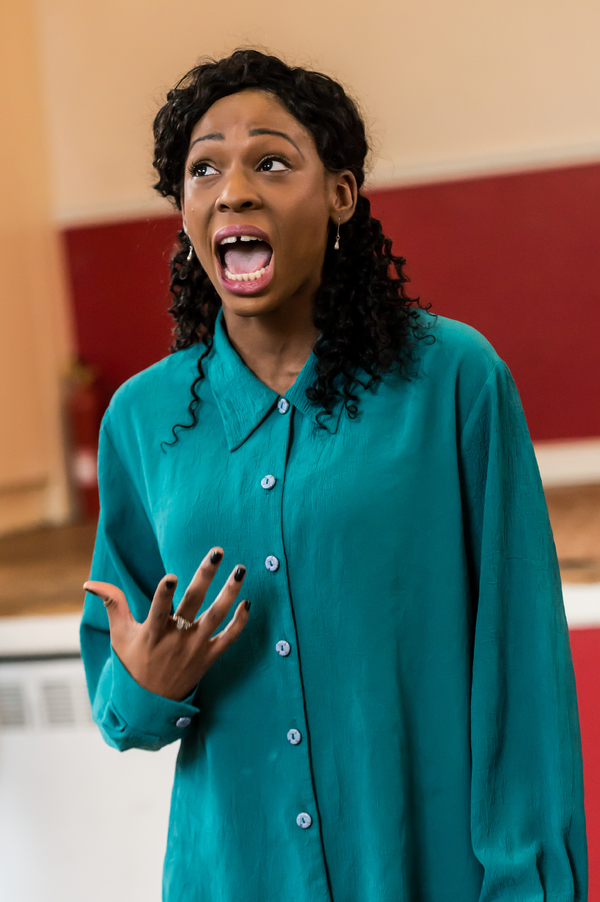 Photo Flash: In Rehearsal With Arcola Theatre's CALLISTO: A QUEER EPIC