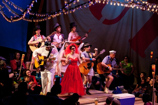 Photo Flash: First Look - PIRATES OF PENZANCE Brings Sun and Surf to NYU Skirball Tonight