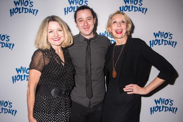 Alison Fraser, Aaron Mark and Julie Halston Photo