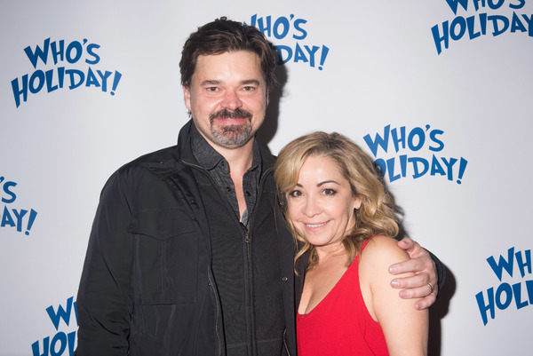 Photo Flash: Lesli Margherita, Charles Busch, Alex Brightman, Sierra Boggess and More Celebrate WHO'S HOLIDAY Opening Off-Broadway