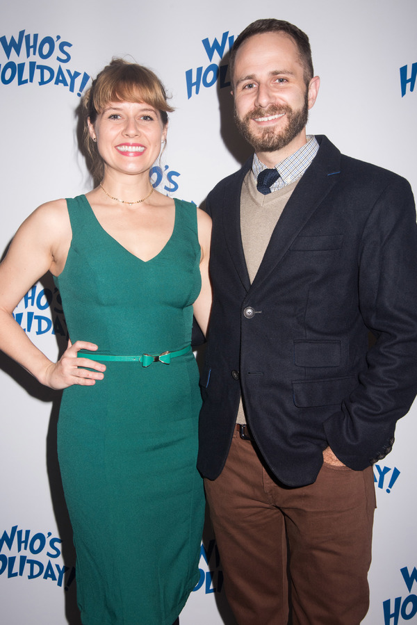 Jennifer Bowles and Matt Harrington Photo