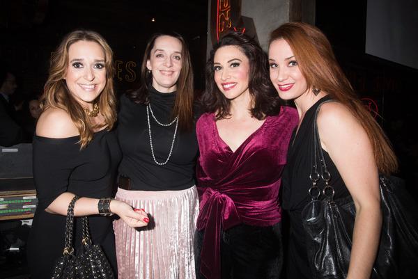 Jessica Vosk, Julia Murney, Lesli Margherita and Sierra Boggess