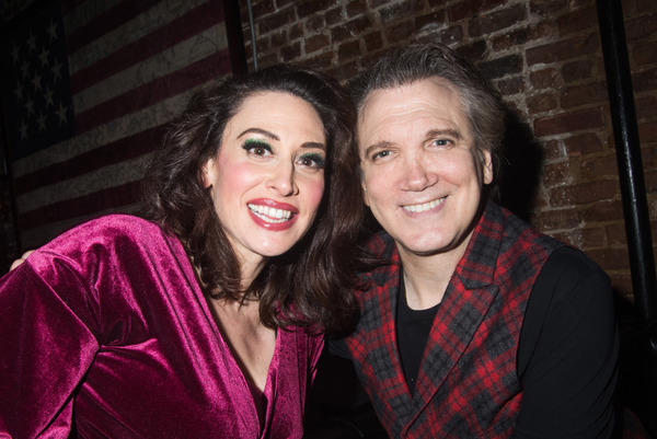 Lesli Margherita and Charles Busch