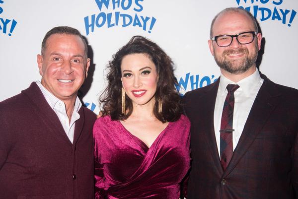 Matthew Lombardo, Lesli Margherita and Carl Andress