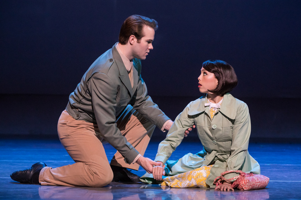 McGee Maddox in An American in Paris. Photo by Matthew Murphy.