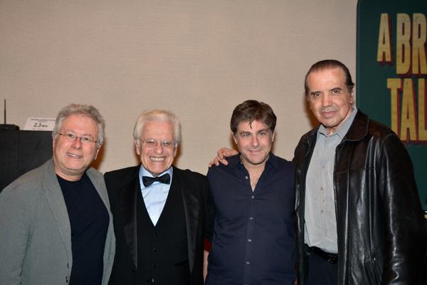 Alan Menkin, Jerry Zaks, Glenn Slater and Chazz Palminteri Photo