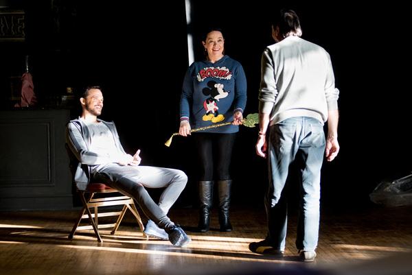 Gareth Gates, Lisa Riley, David Janson