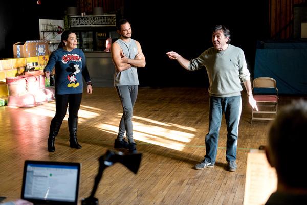 Lisa Riley, Gareth Gates, David Janson
