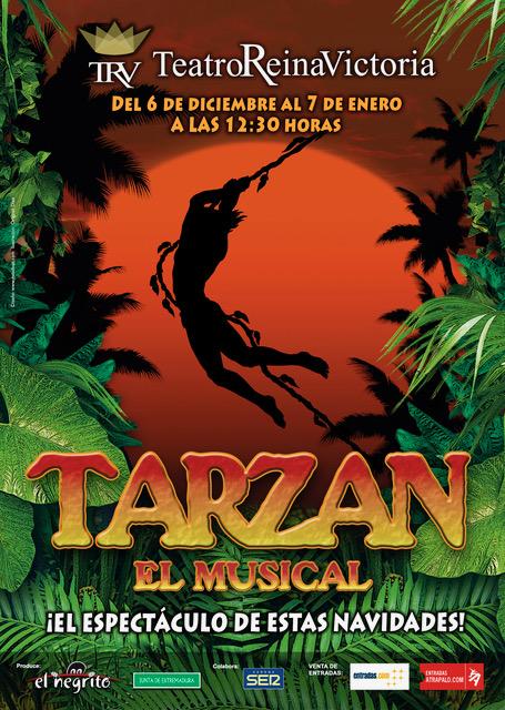 El musical familiar TARZÁN llega al Teatro Reina Victoria