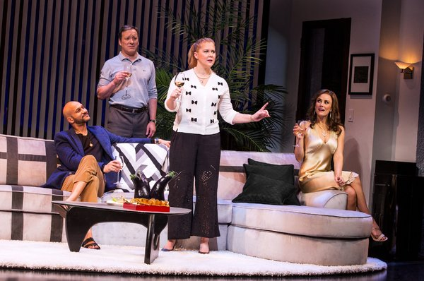 BWW Review: Steve Martin's Hilarious METEOR SHOWER is Undiluted Surrealist Vaudeville