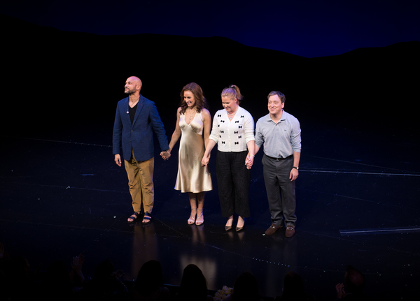 Keegan-Michael Key, Laura Benanti, Amy Schumer and Jeremy Shamos  Photo
