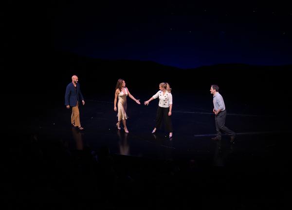 Keegan-Michael Key, Laura Benanti, Amy Schumer and Jeremy Shamos