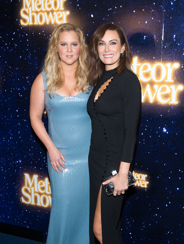 Amy Schumer and Laura Benanti