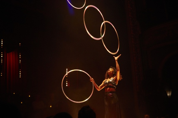 Michele Clark on hula hoop