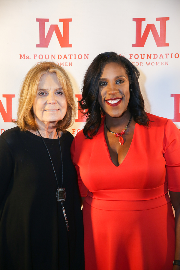 Gloria Steinem and Teresa Younger