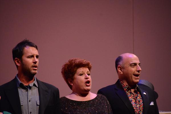 Douglas Ladnier, Klea Blackhurst and William Michals Photo