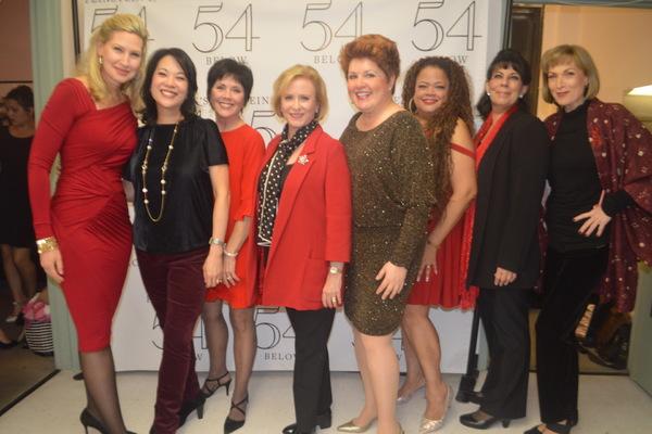 Luba Mason, Christine Toy Johnson, Joyce DeWitt, Eve Plumb, Klea Blackhurst, Natalie Douglas, Christine Pedi Dee Hoty