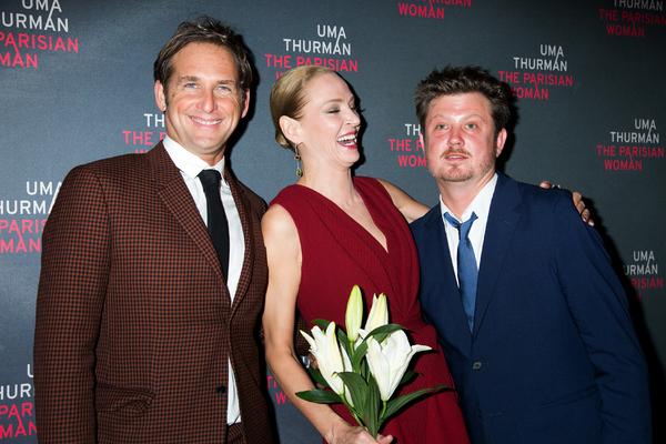 Josh Lucas, Uma Thurman, Beau Willimon Photo