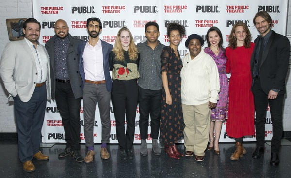Photo Flash: The Public's Mobile Unit 'WINTER'S TALE' Celebrates Opening Night