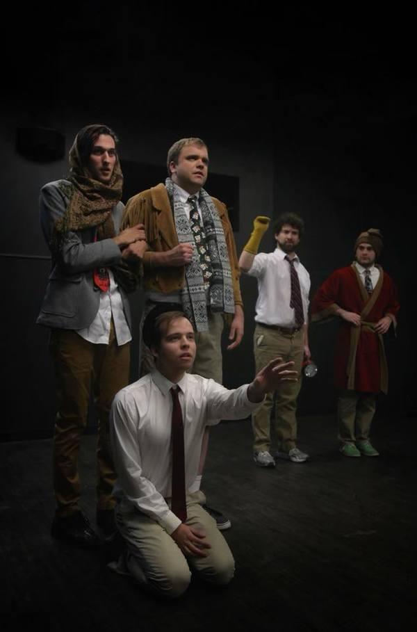 Matthew Lavigne, Chris Pelletier (Tiny Tim), Derek Smith (Bob Crachit), Dan Victor (First Spirit), Aaron Blanck