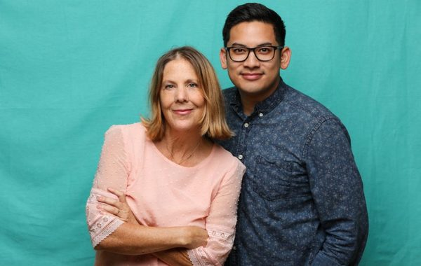 Adapter/director Myra Platt and composer/lyricist Justin Huertas