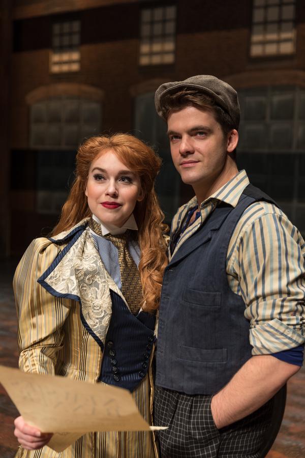 Nadia Vynn as Katherine and Jonathan Shew (Jack Kelly)