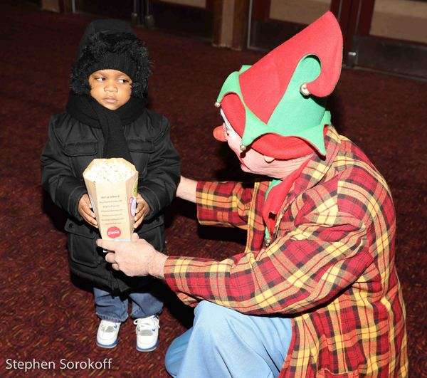 Photo Coverage: The Friars, A Yiddish Theatre, and City Village Cinema Bring Christmas Cheer to NYC Kids
