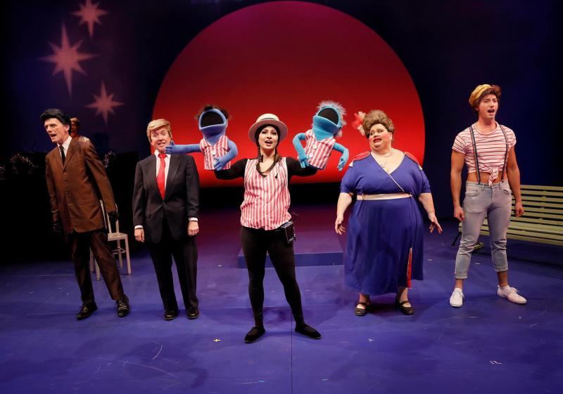 BWW Review: More Raucous Holiday Hilarity with HAM FOR THE HOLIDAYS: THE HAMCHURIAN CANDIDATE at ACT