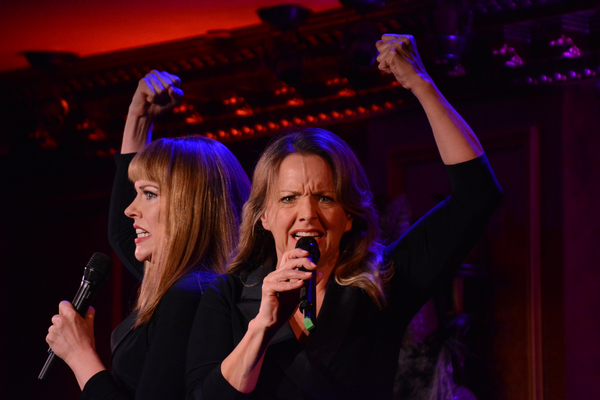 Photo Coverage: Alice Ripley & Emily Skinner: UNNATACHED! at Feinstein's/54 Below
