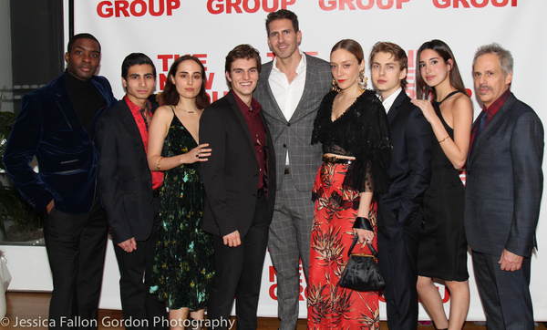 Jason Ziegler, Sepideh Ebrahim, and the cast of Downtown Race Riot