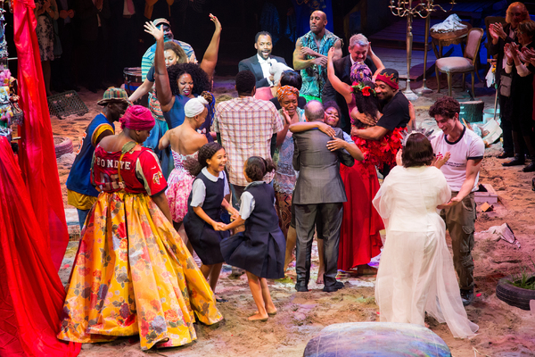Photo Coverage: They Dance! ONCE ON THIS ISLAND Takes Opening Night Bows